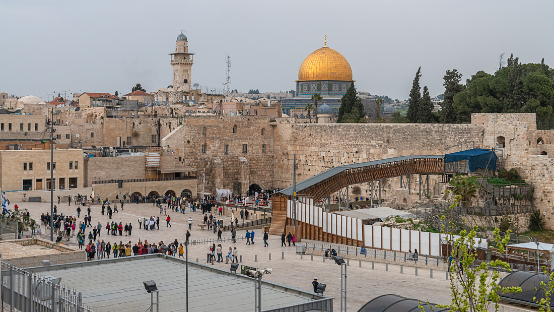 The Western Wall & The Temple Mount
