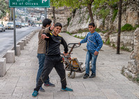 The Mount of Olives - Boys with Pallet Jacks