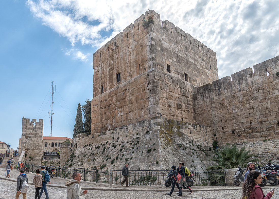 The Tower of David - The Tower of Phasael