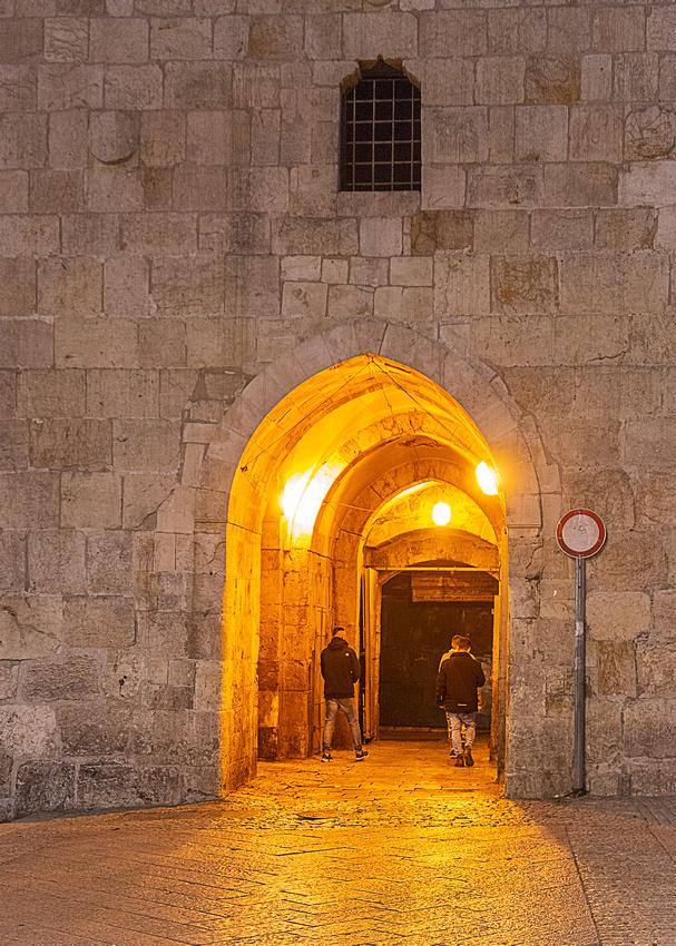 Near National Hotel - Herod's Gate