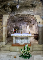 2008, Nazareth - The Basilica of the Annunciation, Mary's Grotto